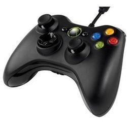 Kontroler MICROSOFT GamePad (Xbox360/PC) Czarny + DARMOWY TRANSPORT! z kategorii gamepady