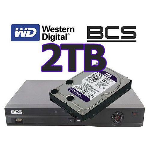Rejestrator cyfrowy hybrydowy CVI Analogowy IP Sieciowy BCS-CVR0801-III + dysk 2TB