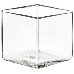 Wazon Ruutu 11,5 cm x 8 cm transparentny (6411923652445)