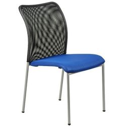 Krzesło konferencyjne hn-7502a/niebieski-czarny krzesło biurowe marki Stema - hn