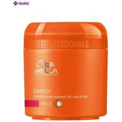 Wella Enrich Thick Maska Nawilżająca do Grubych Włosów (thick) - 150 ml