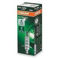 Żarówka samochodowa  12v h1 55w p14.5s 1 szt ultra life 3x dłuższa żywotność marki Osram