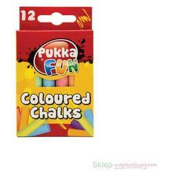 Kreda kolorowa niepyląca 12 kolorów sprawdź szczegóły w InBook.pl