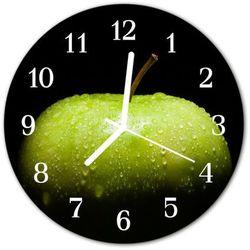 Zegar ścienny okrągły jabłko marki Tulup.pl