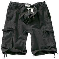 Szorty surplus vintage shorts washed - black (07-5596-63) marki Surplus / niemcy