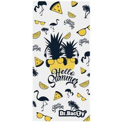 Dr.bacty l szybkoschnący ręcznik treningowy 60x130 cm / hello summer - hello summer