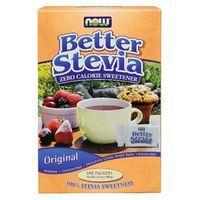 Now Foods Better Stevia 100 saszetek po 1g, NOW FOODS