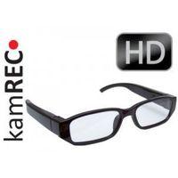 Okulary szpiegowskie z kamerą 1920x1080 fullhd niewidoczny obiektyw marki Kamrec