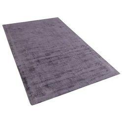 Beliani Dywan szary 80x150 cm krótkowłosy - chodnik - wiskoza - gesi