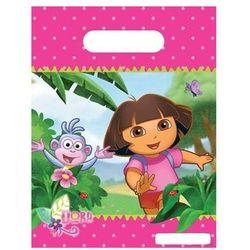 Prezentowe torebki urodzinowe Dora - 6 szt. (5201184808603)