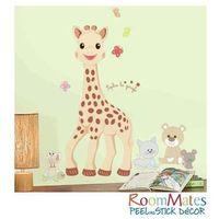 ROOMMATES Naklejki wielokrotnego użytku - Żyrafka Sophie, towar z kategorii: Naklejki