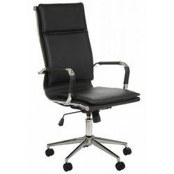 Fotel gabinetowy NE-635 czarny - biurowy, obrotowy - krzesło obrotowe