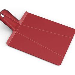 Joseph joseph - chop 2 pot deska do krojenia składana czerwona
