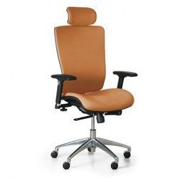 Krzesło biurowe lester f, pomarańczowy marki B2b partner