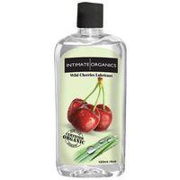Intimate organics Środek nawilżający -  wild cherries flav lube 120 ml czereśniowy