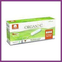 ORGANYC Tampony z bawełny organicznej, Super Plus-16 szt.