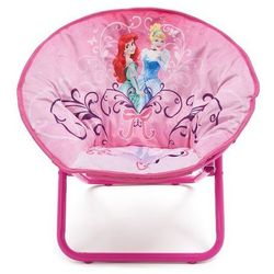 Krzesełko Krzesło dziecięce rozkładane Pufa - Princess - produkt z kategorii- Krzesła i stoliki