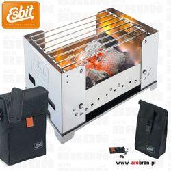 Grill turystyczny 100 bbq100s z torbą i pokrowcem na węgiel - mały przenośny składany marki Esbit