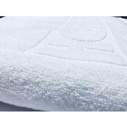 Ręcznik Hotelowy AQUA z Logo HOTEL 50x100 cm Biały 100% bawełna 500 gr/m2, 26AE-301AB_20180214154646