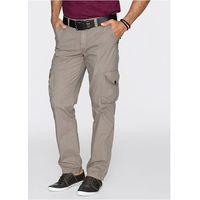 Bonprix Lekkie spodnie bojówki regular fit straight  czarny