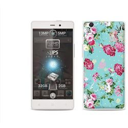 Fantastic case - allview x1 soul - etui na telefon fantastic case - różyczki na miętowym tle od producenta