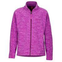 Bluza polarowa  lassen fioletowy melanż marki Marmot