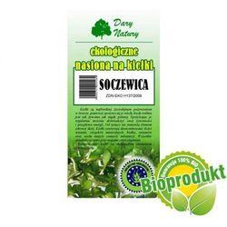 Ekologiczne nasiona na kiełki - Soczewica 50g Dary Natury (5902768527230)