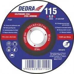Tarcza do szlifowania stali DEDRA F1322 230 x 6.0 x 22.2 Typ 27 - oferta (9523dfa4ffe31693)
