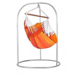 Zestaw hamakowy: fotel hamakowy orquidea ze stojakiem romano, pomarańczowy orc14roa168 marki La siesta