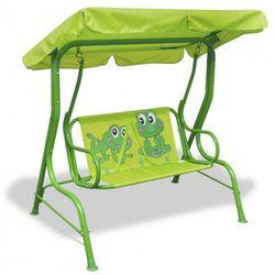 Huśtawka dla dzieci żabka zielona marki Producent: elior