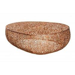 INVICTA stolik kawowy LEAF 122cm - miedziany, metal