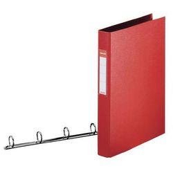 segregator vivida a4 z mechanizmem kółkowym, 4r 35mm, czerwony marki Esselte