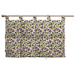 Dekoria Wezgłowie na szelkach, fioletowo-zielone kwiatuszki na jasnym tle, 90 x 67 cm, Wyprzedaż do -30%