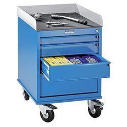 Eurokraft Montażowy wózek pomocniczy, lakierowany proszkowo,z szafką szufladową