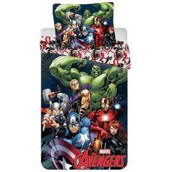 Jerry Fabrics dziecięca pościel bawełniana Avengers 2016, 140 x 200 cm, 70 x 90 cm z kategorii Komplety pościeli dla dzieci