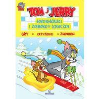 Tom i Jerry. Łamigłówki i zabawy logiczne. Żółta + zakładka do książki GRATIS, praca zbiorowa