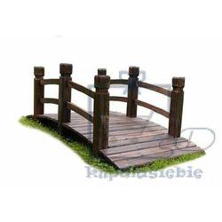Drewniana kładka mostek ogrodowy Garth 150 cm (4025327350139)