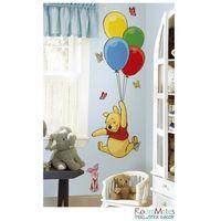 ROOMMATES Naklejki wielokrotnego użytku Kubuś z balonami - produkt z kategorii- Naklejki