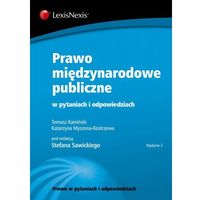 Prawo międzynarodowe publiczne w pytaniach i odpowiedziach (392 str.)