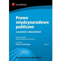 Prawo międzynarodowe publiczne w pytaniach i odpowiedziach, książka w oprawie miękkej