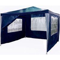 Makstor.pl Pawilon ogrodowy 3x3 4 ściany namiot handlowy - niebieski