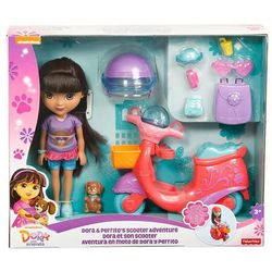 Dora i piesek - przygoda na skuterze, marki Mattel