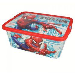 Spiderman - Pojemnik / organizer na zabawki 13 L, 10_14099