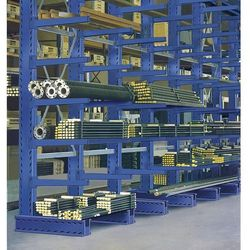Wspornik, fioletowo-niebieski, ral 5010, dł. wspornika 1000 mm. z profilowanej b marki Eurokraft