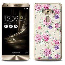Fantastic case - asus zenfone 3 deluxe (zs570kl) - etui na telefon fantastic case - pastelowe różyczki od pr