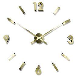 Zegar ścienny Sticker gold by JVD