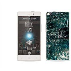 Fantastic case - allview x1 soul - etui na telefon fantastic case - zielony marmur, marki Etuo.pl