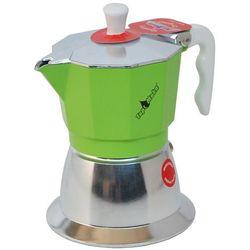 Kawiarka na indukcję Top Moka TOP 2 filiżanki - srebrno zielona