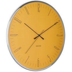 Zegar ścienny Karlsson Dragonfly żółty