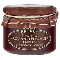 310g powidła z czarnych porzeczek i jabłek bez dodatku cukru tradycyjna receptura marki Krokus